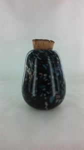 Black, Blue & White Jar
